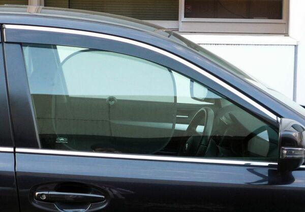運転席&助手席の日よけ装着運転は佐賀県では「道交法違反」になります。